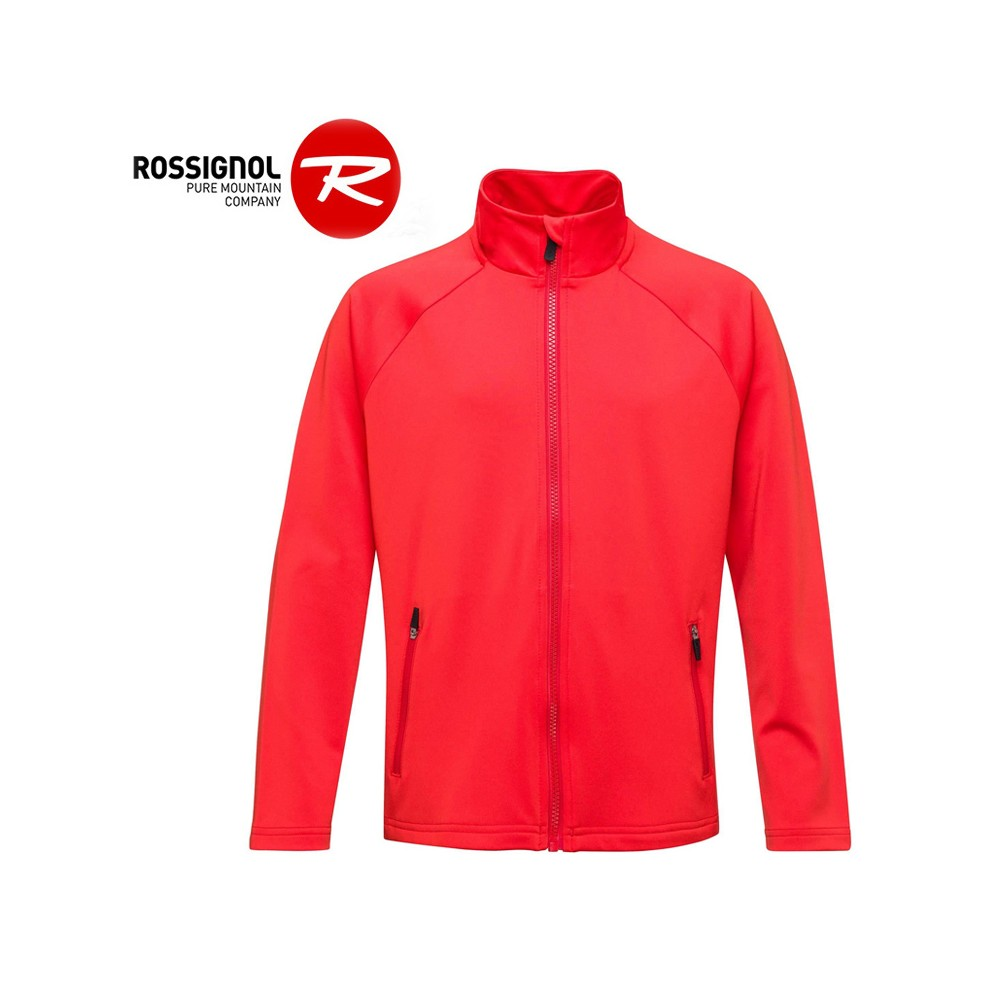 Veste ROSSIGNOL Boy FZ Clim Rouge orangé Garçon