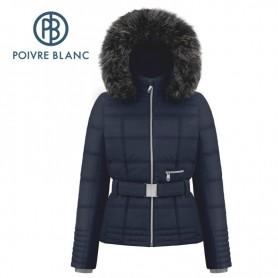 Veste de ski POIVRE BLANC W18 1003 WOA Bleu marine Femme