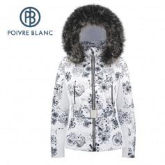 Veste de ski POIVRE BLANC W18-0804 WO/A Blanc Femme