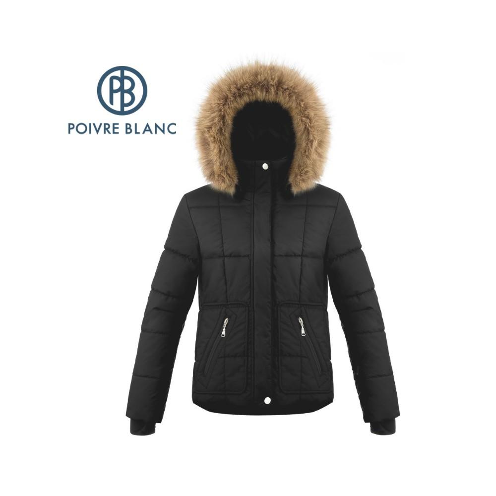 Veste de ski POIVRE BLANC W18-1000 WO/A Noir Femme