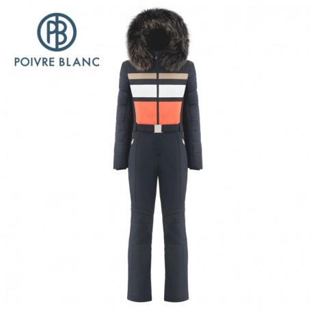 Combinaison de ski POIVRE BLANC W18-0830 Blue marine Femme