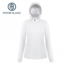 Veste stretch POIVRE BLANC W18-1601 WO Blanc Femme