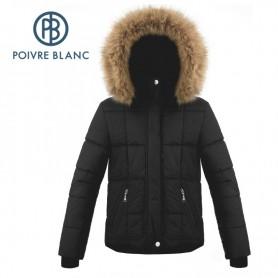 Veste de ski POIVRE BLANC W18-1000 JRGL/A Noir Fille