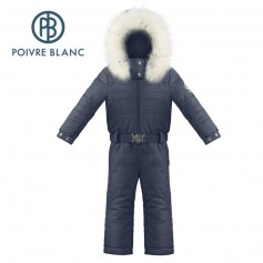 Combinaison de ski POIVRE BLANC W18-1030 BBGL Bleu marine BB Fille