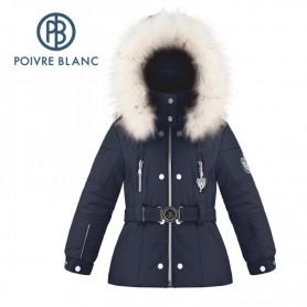 Veste de ski POIVRE BLANC W18-1008 BBGL/A Bleu marine BB Fille