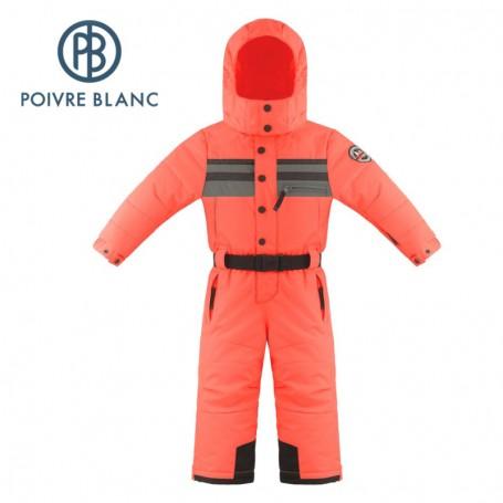 Combinaison de ski POIVRE BLANC W18-0930 BBBY Orange BB Garçon