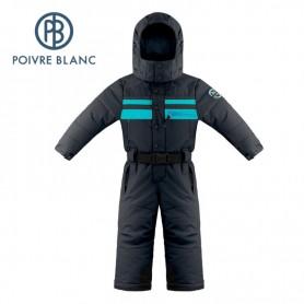 gamme exceptionnelle de styles magasin en ligne se connecter Combinaison de ski POIVRE BLANC W18-0930 BBBY Bleu marine BB Garçon
