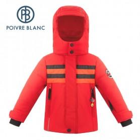 Veste de ski POIVRE BLANC W18-900 BBBY Rouge Garçon