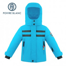 Veste de ski POIVRE BLANC W18-900 BBBY Bleu Garçon