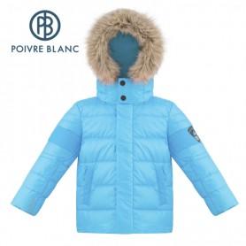 Doudoune POIVRE BLANC W18-1215 BBBY/A Bleu Bébé Garçon