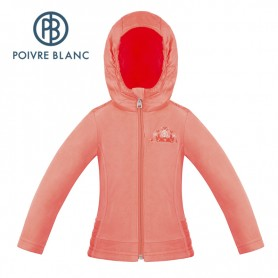 Veste POIVRE BLANC W18-1502 BBGL Orange Fille