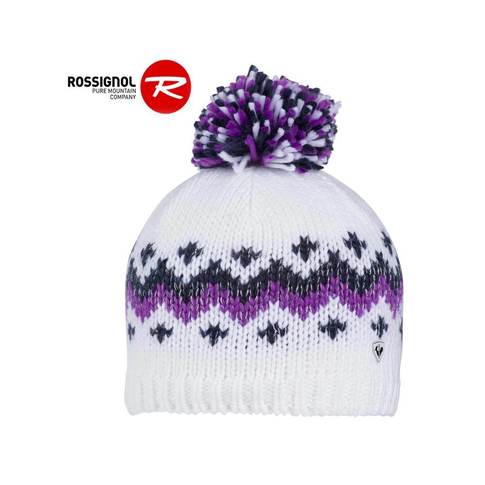Bonnet de ski ROSSIGNOL Tina Blanc Junior