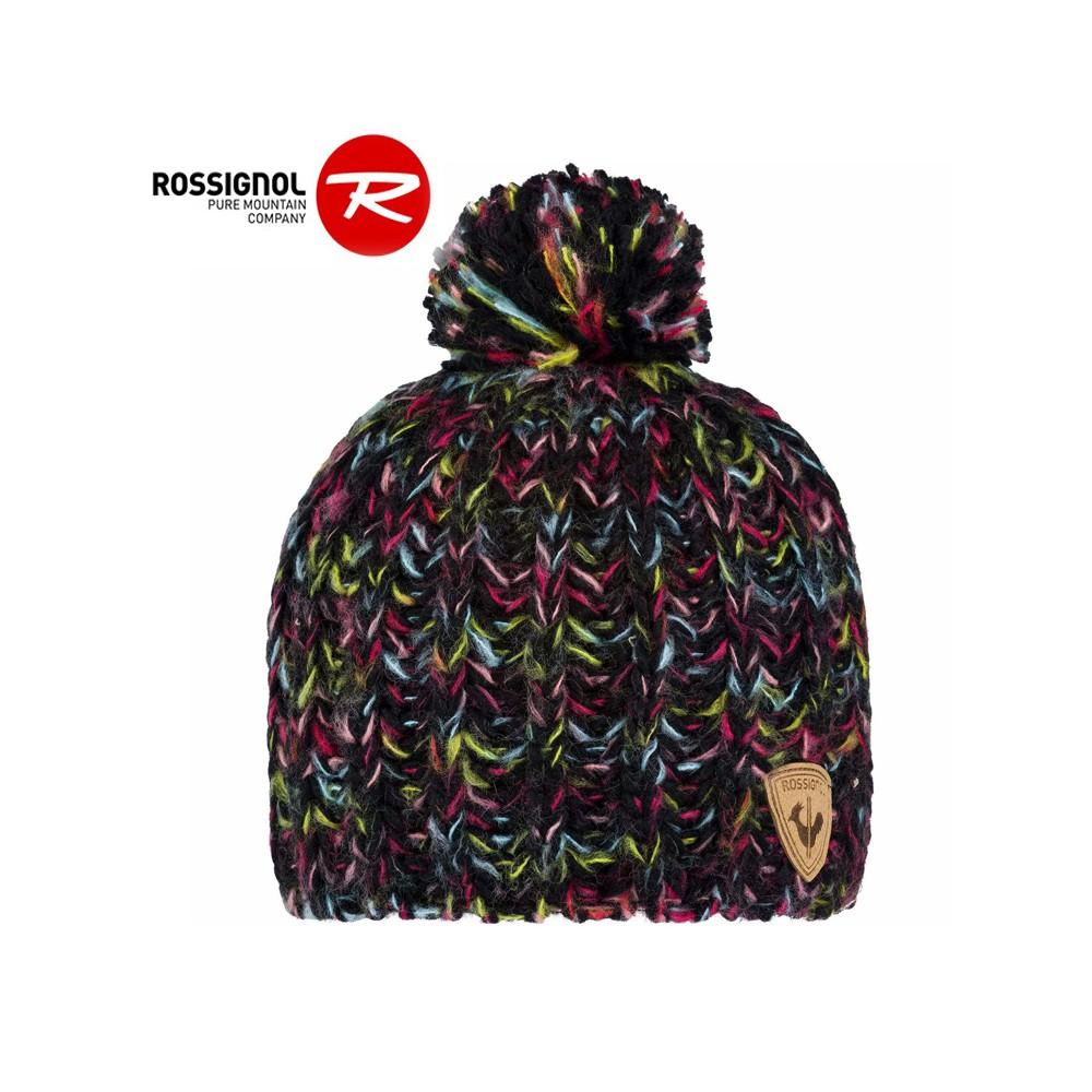 Bonnet de ski ROSSIGNOL Lya Noir Junior