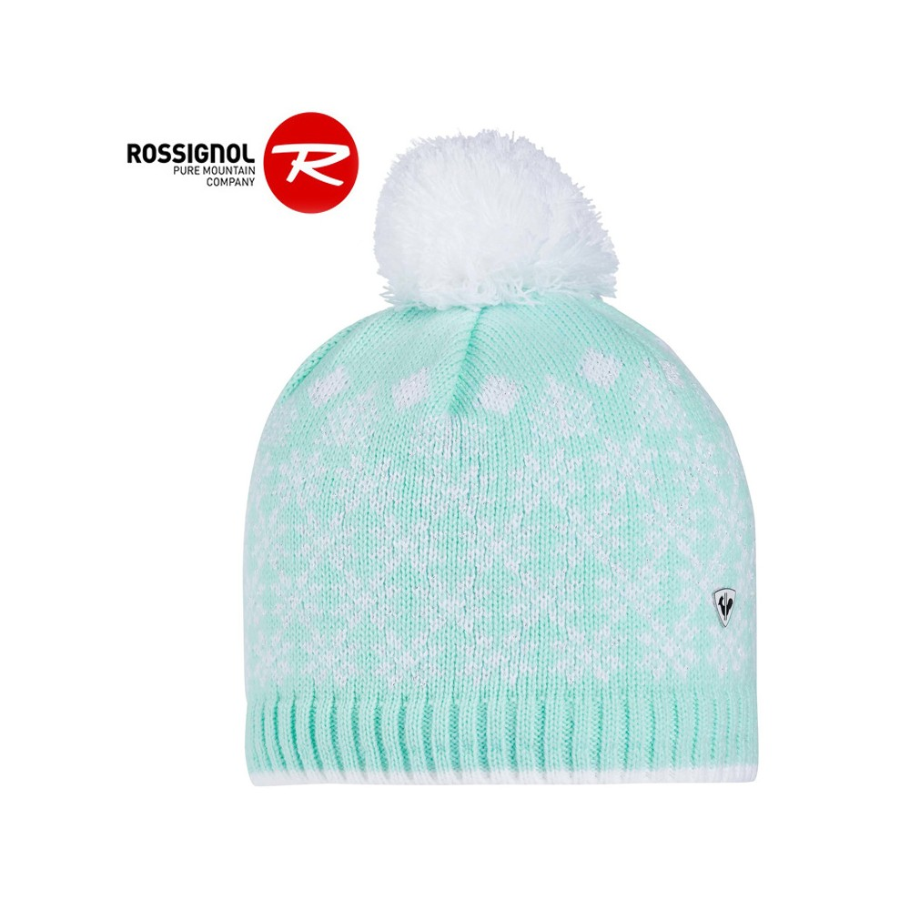 Bonnet de ski ROSSIGNOL Lily Blanc Junior
