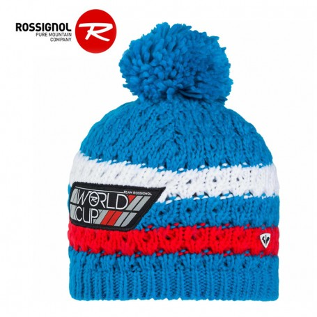 Bonnet de ski ROSSIGNOL World Cup Bleu Junior