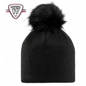 Bonnet de ski ROSSIGNOL Ely Noir Femme