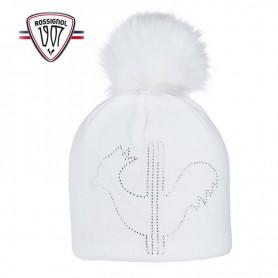 Bonnet de ski ROSSIGNOL Ely Blanc Femme