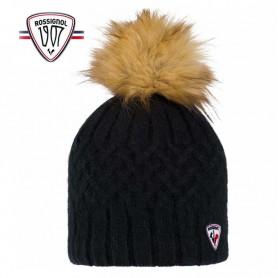Bonnet de ski ROSSIGNOL Poly Noir Femme