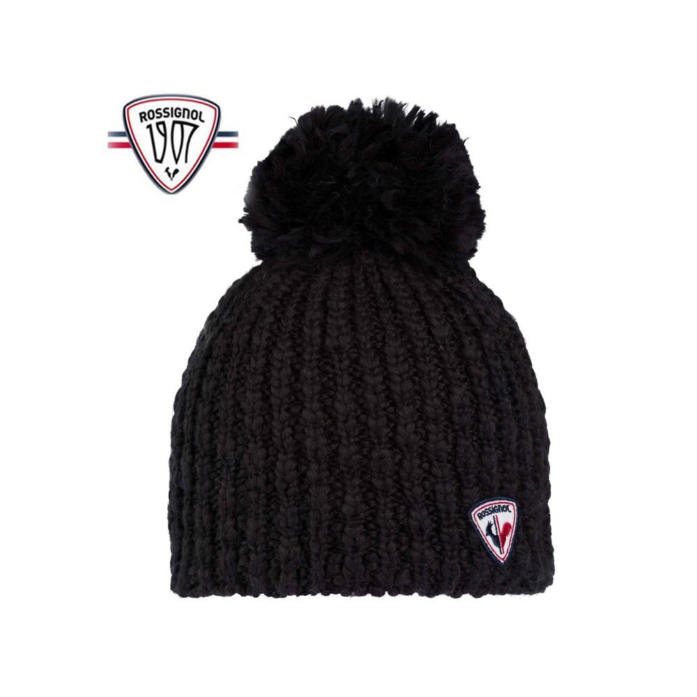 Bonnet de ski ROSSIGNOL Mely Noir Femme