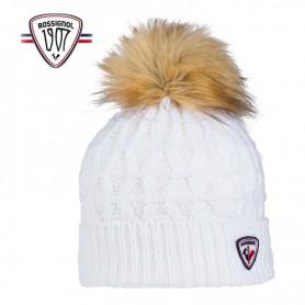 Bonnet de ski ROSSIGNOL Yuna Blanc Femme
