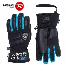 Gants de ski ROSSIGNOL WC Master Noir/Bleu Homme