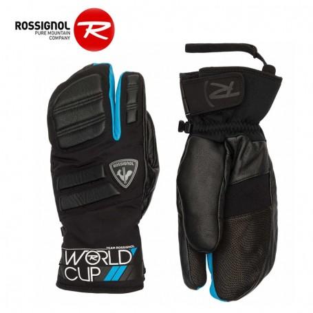Moufles 3 doigts ROSSIGNOL WC Master Noir/Bleu Homme