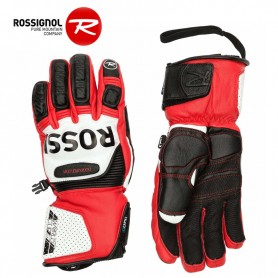 Gants de ski ROSSIGNOL WC Pro Race Leather Rouge Homme
