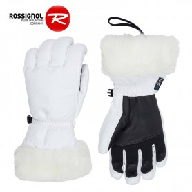 Gants de ski ROSSIGNOL Meije Blanc Femme