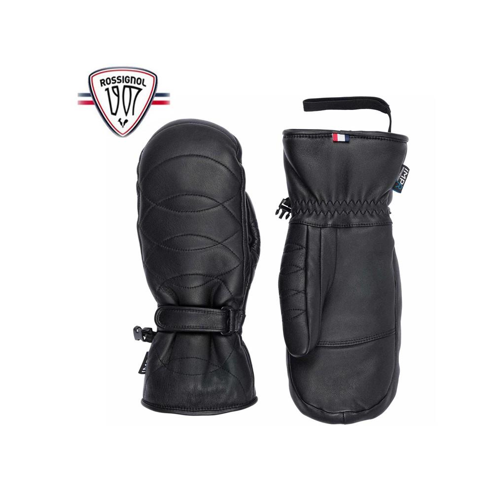 Moufles de ski ROSSIGNOL Select Leather Noir Femme