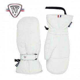 Moufles de ski ROSSIGNOL Select Leather Crème Femme