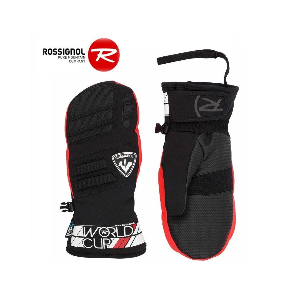 Moufles de ski ROSSIGNOL Race Rouge  Junior