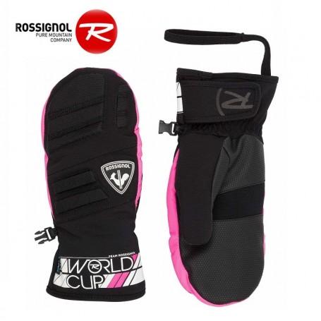 Moufles de ski ROSSIGNOL Race Rose  Junior