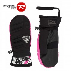 Moufles de ski ROSSIGNOL Race Rose Junior