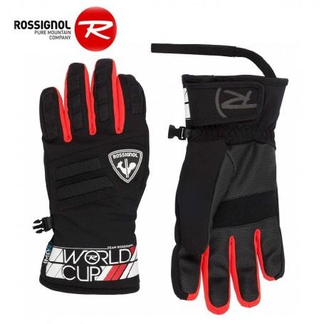 Gants de ski ROSSIGNOL Race Rouge Junior