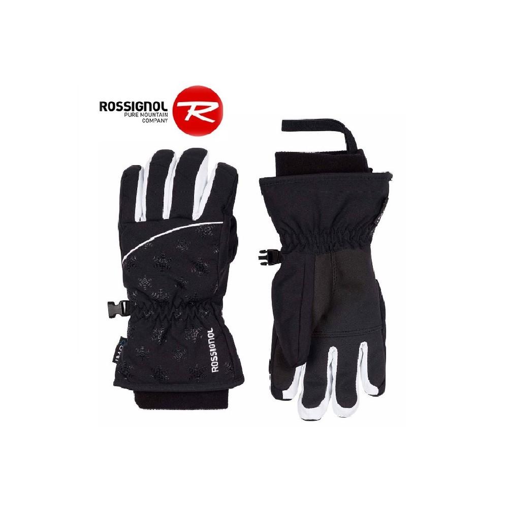 Gants de ski ROSSIGNOL Nicky Noir Fille