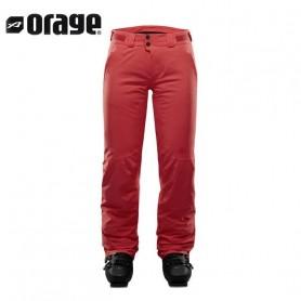 Pantalon de ski ORAGE Clara Grenadine Femme