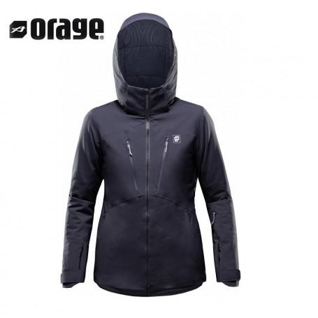 Veste de ski ORAGE Grace19 Indigo Femme