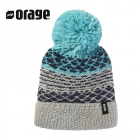 Bonnet de ski ORAGE June Gris Fille