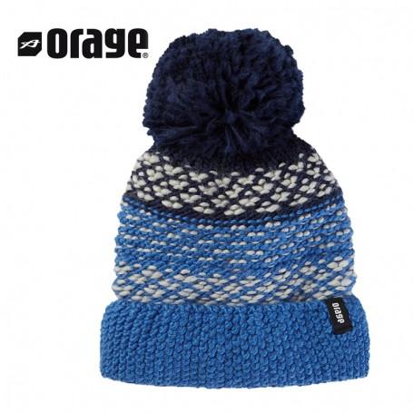 Bonnet de ski ORAGE June Bleu Fille