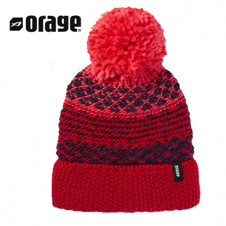 Bonnet de ski ORAGE June Rose Fille