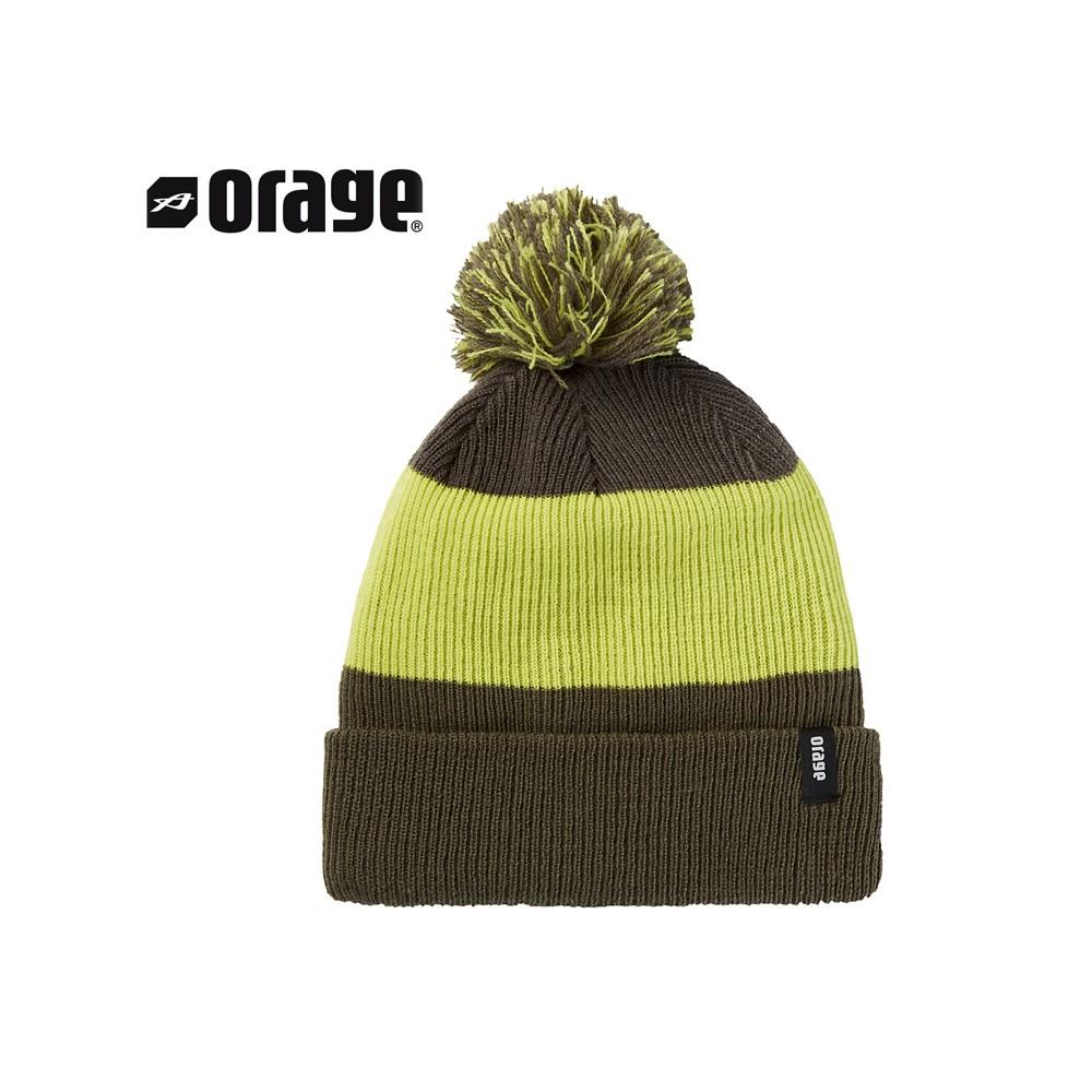 Bonnet de ski ORAGE Stomp Kaki Garçon