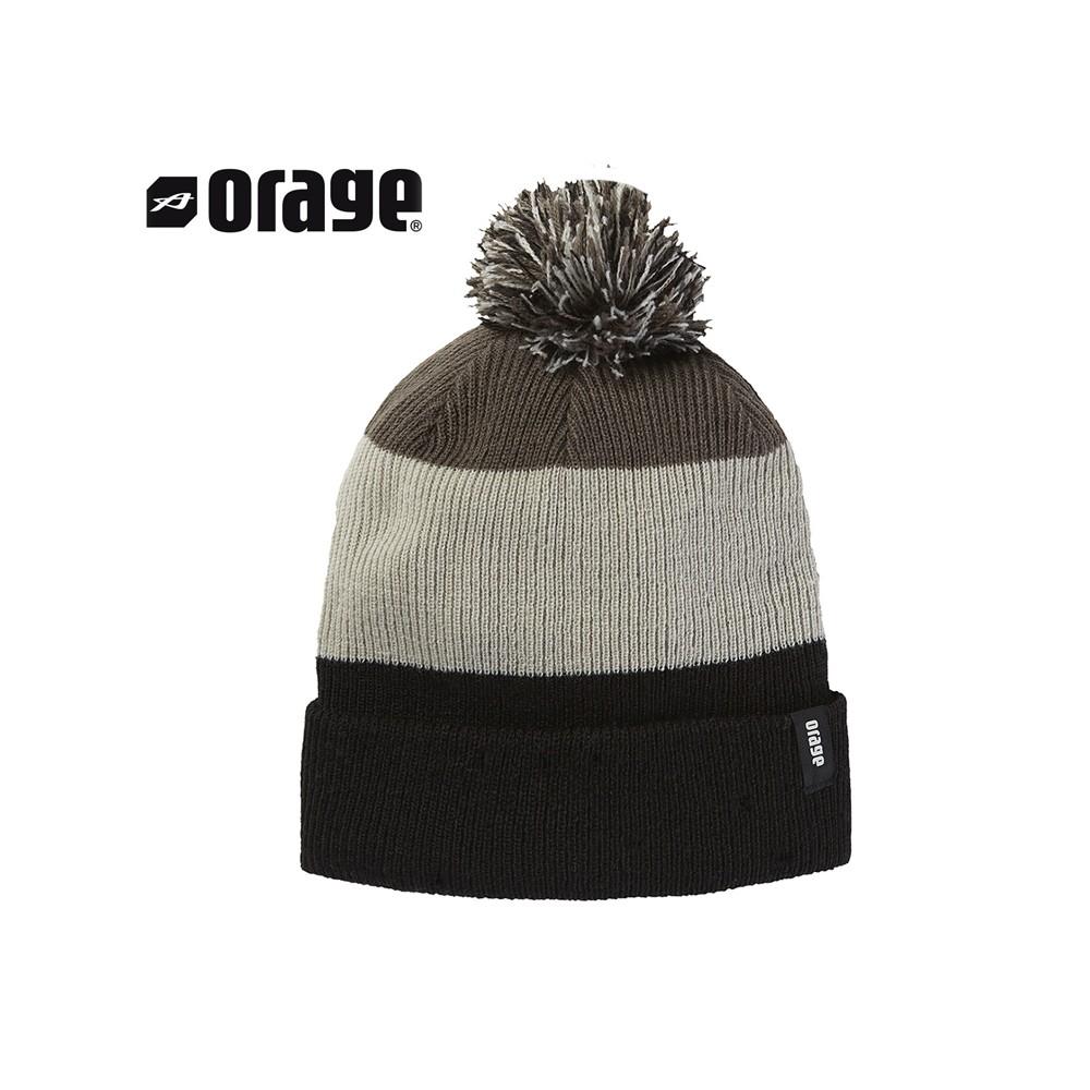 Bonnet de ski ORAGE Stomp Noir Garçon