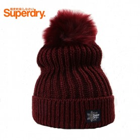 Bonnet SUPERDRY Aries Sparkle Bordeaux Femme