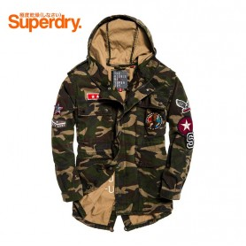 Parka SUPERDRY Rookie Oversized Camo Femme