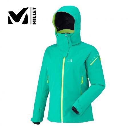 Veste de ski MILLET Whistler Stretch Vert Femme
