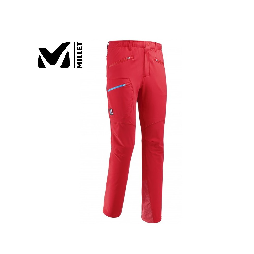 Pantalon Gtx MILLET Trilogy Wool Rouge Homme