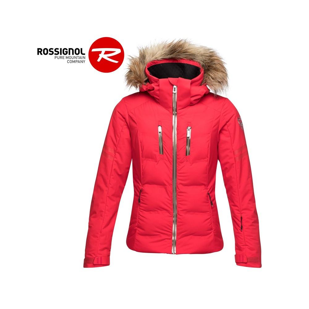 Doudoune de ski ROSSIGNOL Départ Rose Femme