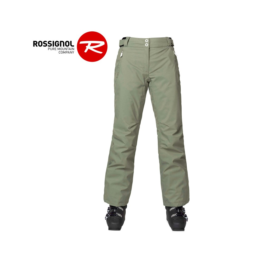 Pantalon de ski ROSSIGNOL Ski Pant Kaki Femme