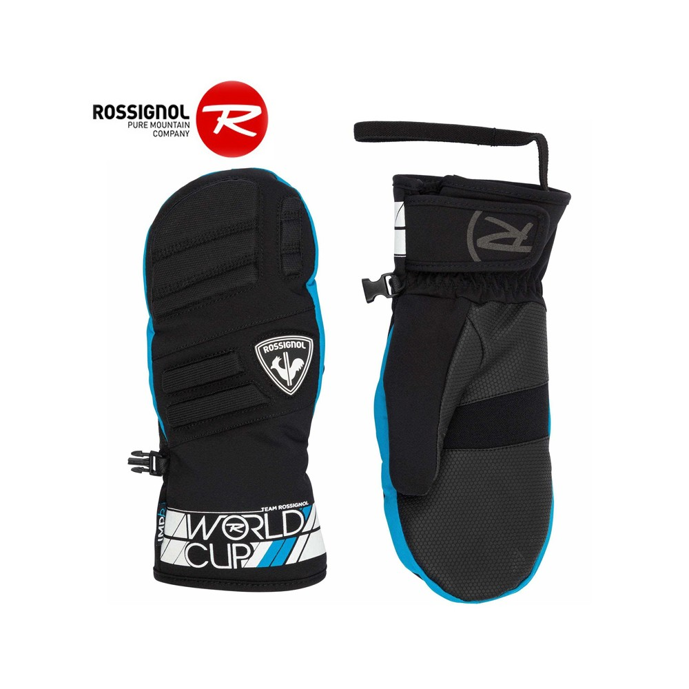 Moufles de ski ROSSIGNOL Race Bleu  Junior