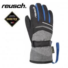 Gants de ski REUSCH Bolt Gtx Noir / Bleu Junior